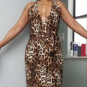 DVF vintage halter dress